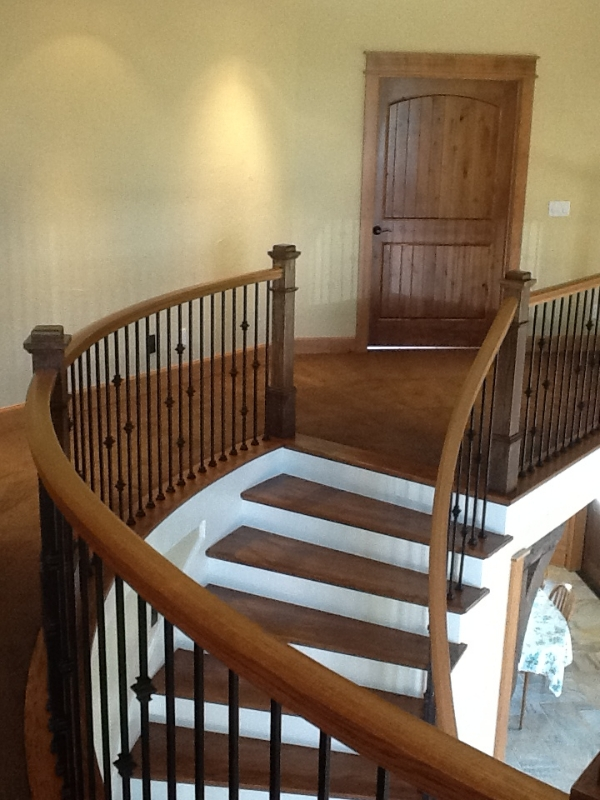 33 Curved or Radius Stairs