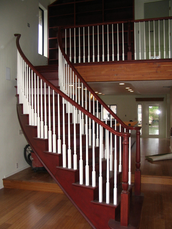 01 Curved or Radius Stairs