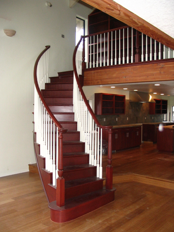 02 Curved or Radius Stairs