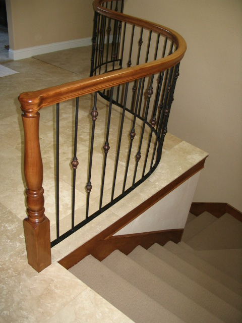 16 Curved or Radius Stairs