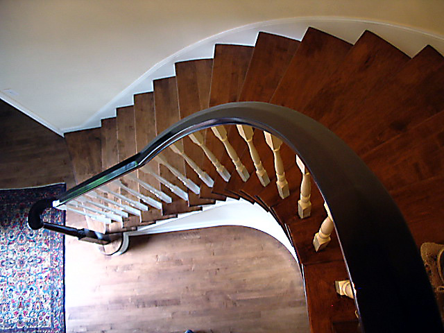 29 Curved or Radius Stairs
