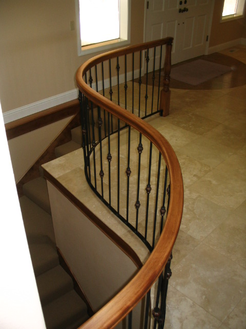 17 Curved or Radius Stairs