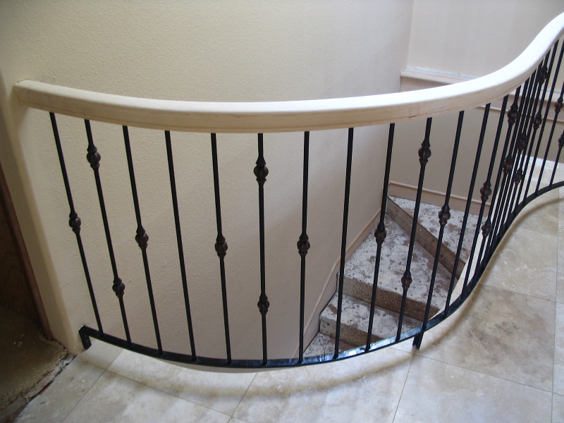 18 Curved or Radius Stairs