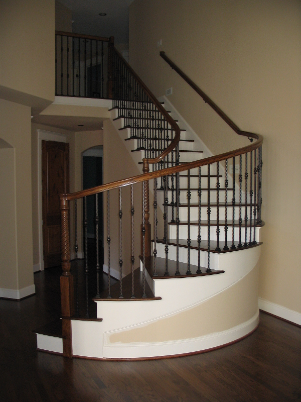 09 Curved or Radius Stairs