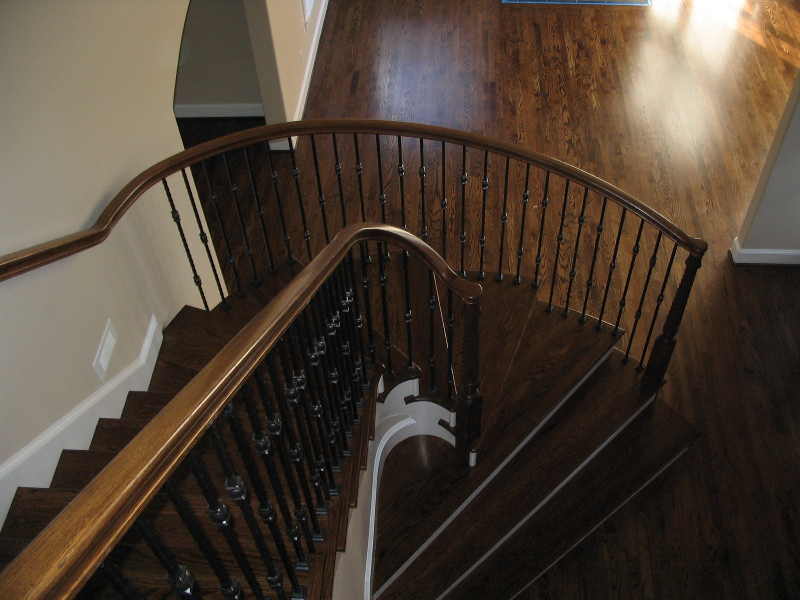 06 Curved or Radius Stairs