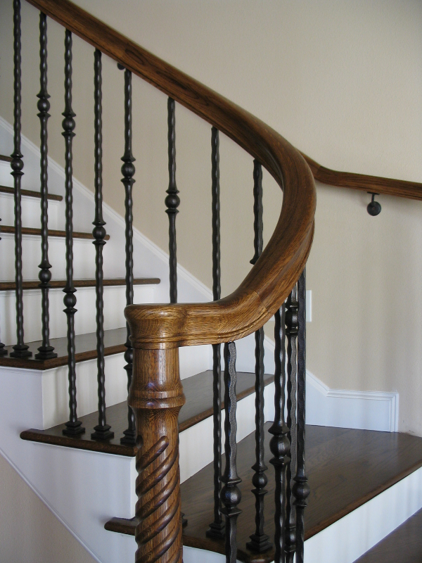 07 Curved or Radius Stairs