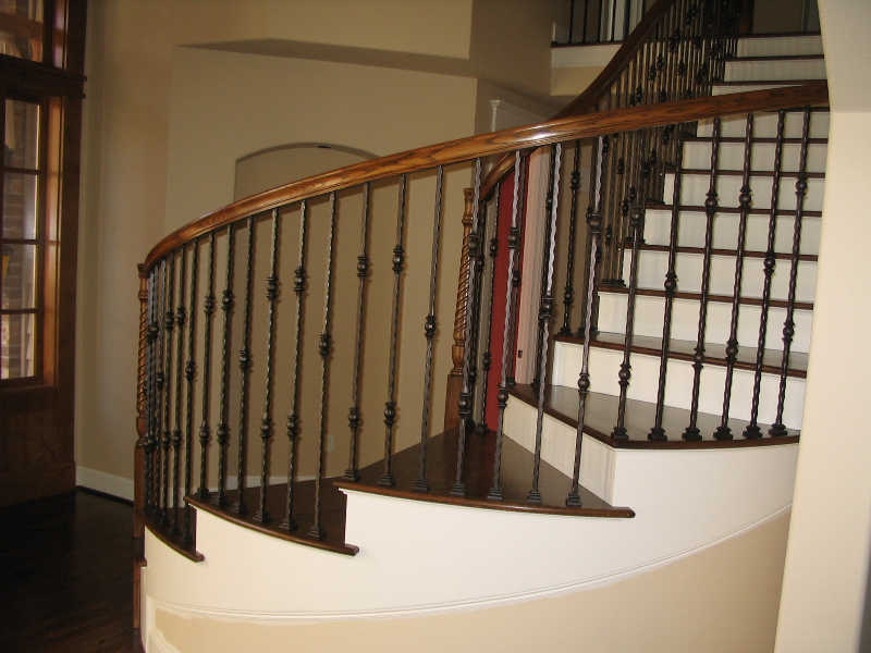 08 Curved or Radius Stairs