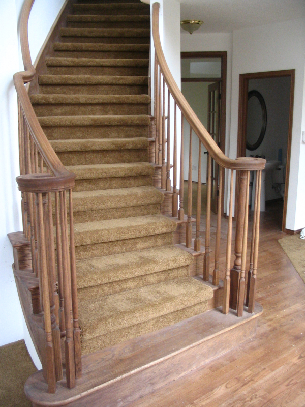 23  Curved or Radius Stairs