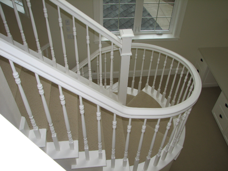 19 Curved or Radius Stairs