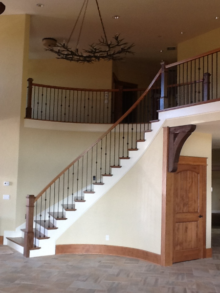32 Curved or Radius Stairs