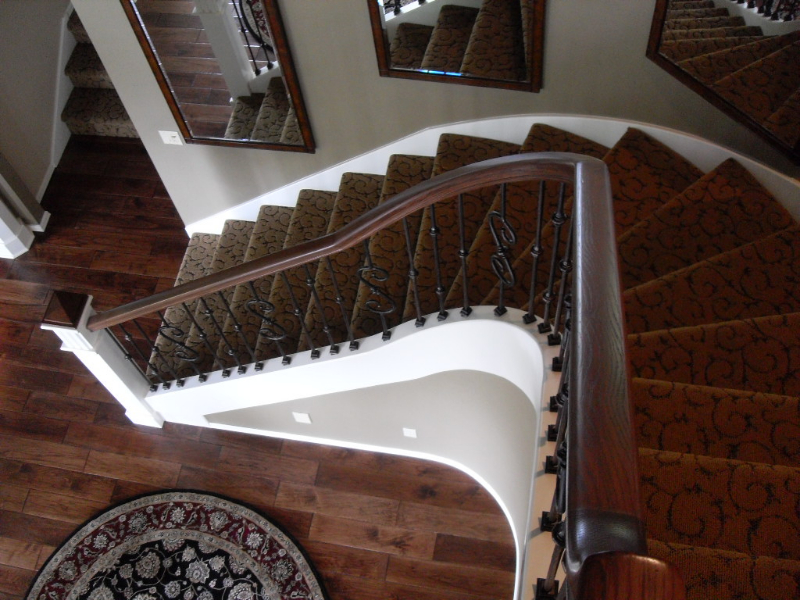 30 Curved or Radius Stairs