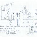 Newel and Railing bolt sketch