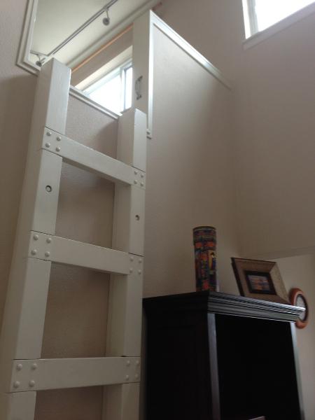 1 Loft stairs