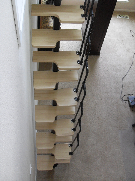 3 Loft stairs