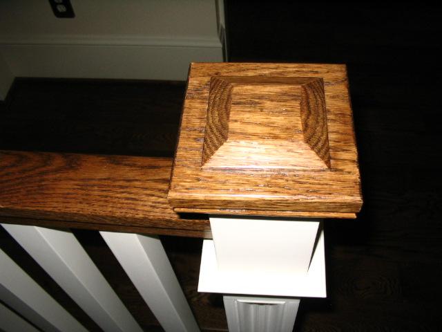 06 post caps and railing brackets