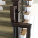01 post caps and railing brackets