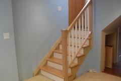 Removable basement handrail