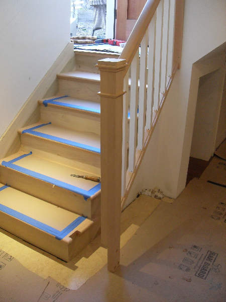 03 Removable basement handrail