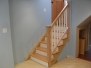 Removable basement handrail