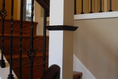 Stain & Painted Posts & Treads