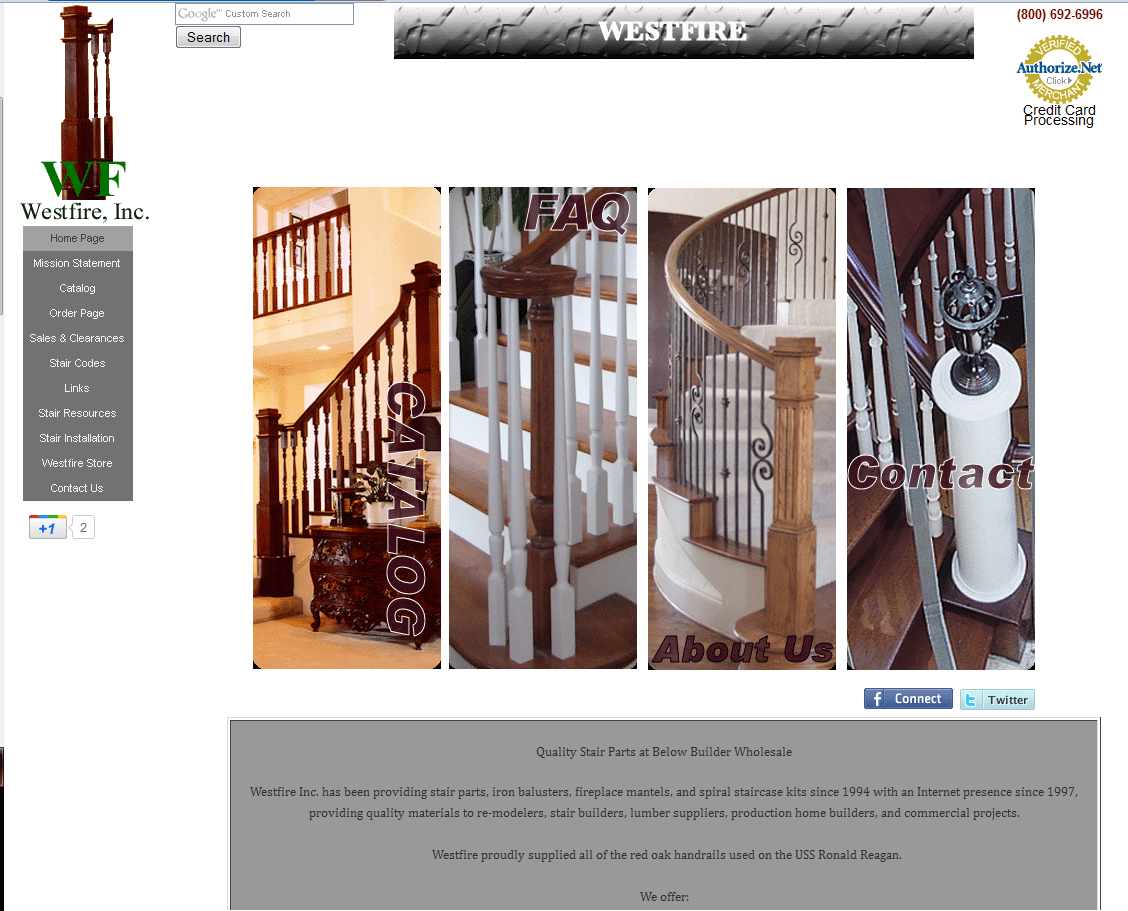Westfire Inc. Has Been Providing Stair Parts, Iron Balusters, Fireplace  Mantels, And
