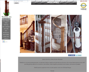 Westfire Inc. has been providing stair parts, iron balusters, fireplace mantels, and spiral staircase kits since 1994 with an Internet presence since 1997, providing quality materials to re-modelers, stair builders, lumber suppliers, production home builders, and commercial projects.