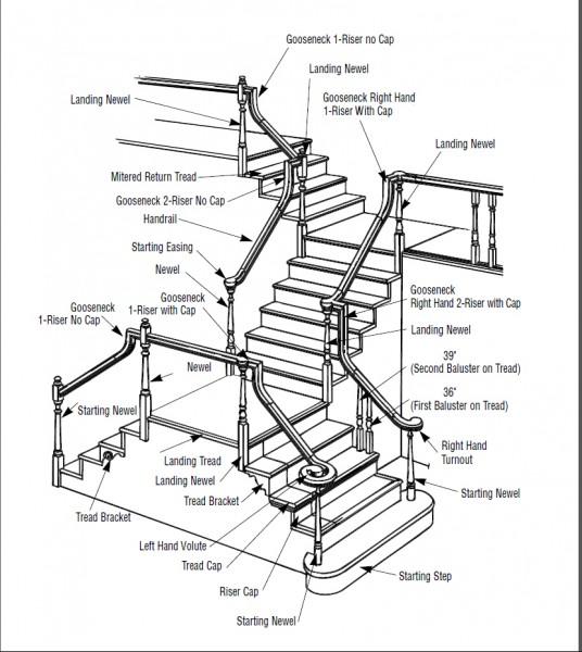 Anatomy of stairs