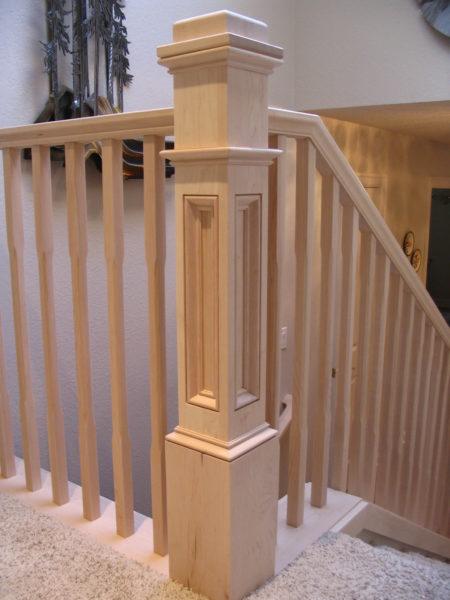 Box Newel Portland Stair Company