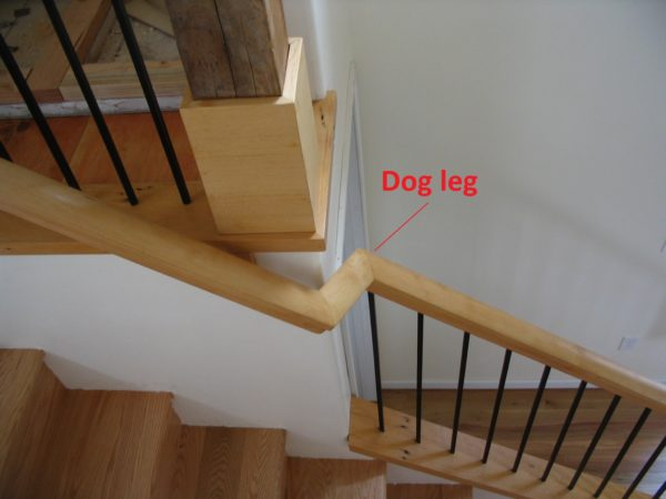 Dogleg Portland Stair Company