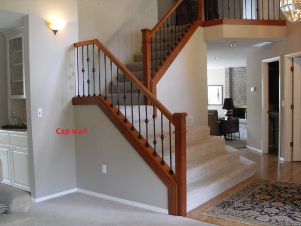 Cap Wall Portland Stair Company
