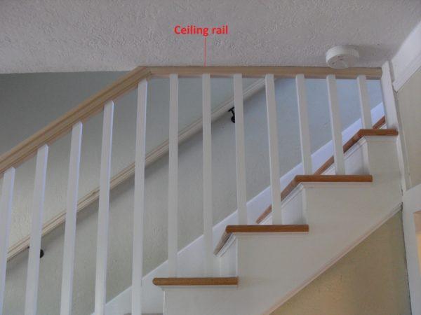 Ceiling Rail | Portland Stair Company